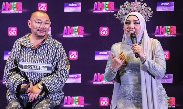 Noraniza Idris & Michael Ang Berdamai di Anugerah MeleTop Era 2020