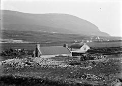 Dunkinalla village, Achill Island, Co. Mayo