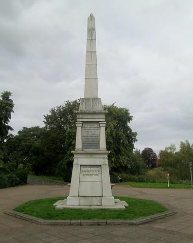 Perthshire Volunteers Memorial, North Inch