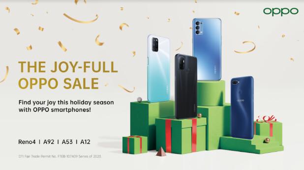OPPO JoyFull Christmas Sale