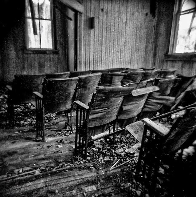 Abandoned One Room Schoolhouse-Ontonagon County, MI