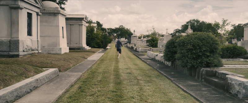 Metairie Cemetery scene