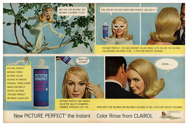 Clairol Picture Perfect Instant Color Rinse (1966)