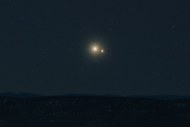 The Grand Conjunction of Jupiter and Saturn