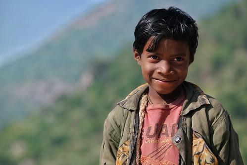kids children portrait bengal india face expression joy pardi purulia