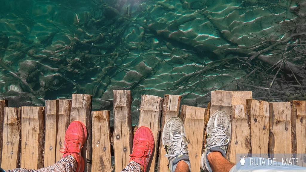 Visitar los lagos de Plitvice