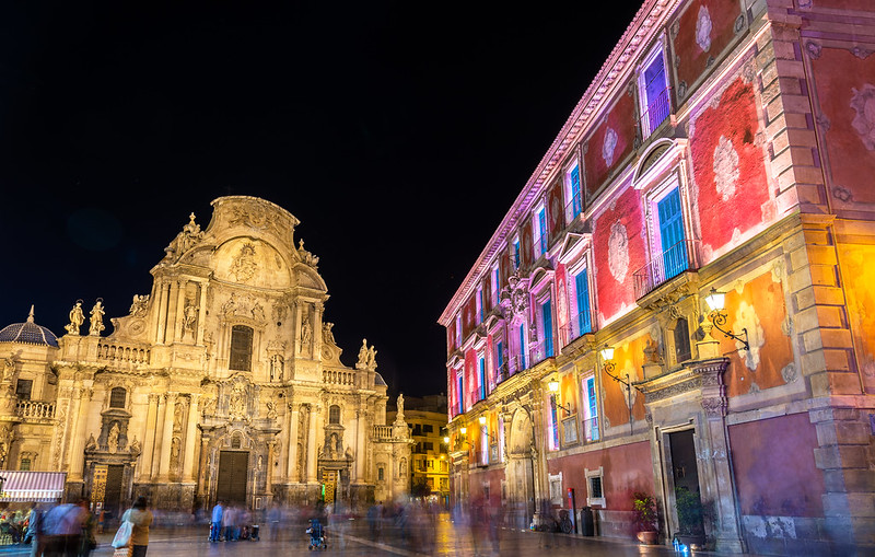Palacio Episcopal and Catedral Murcia - A town full of colour and vibrant culture