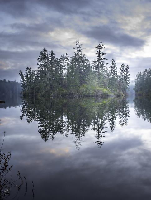 Thetis lake, Victoria BC. Canada