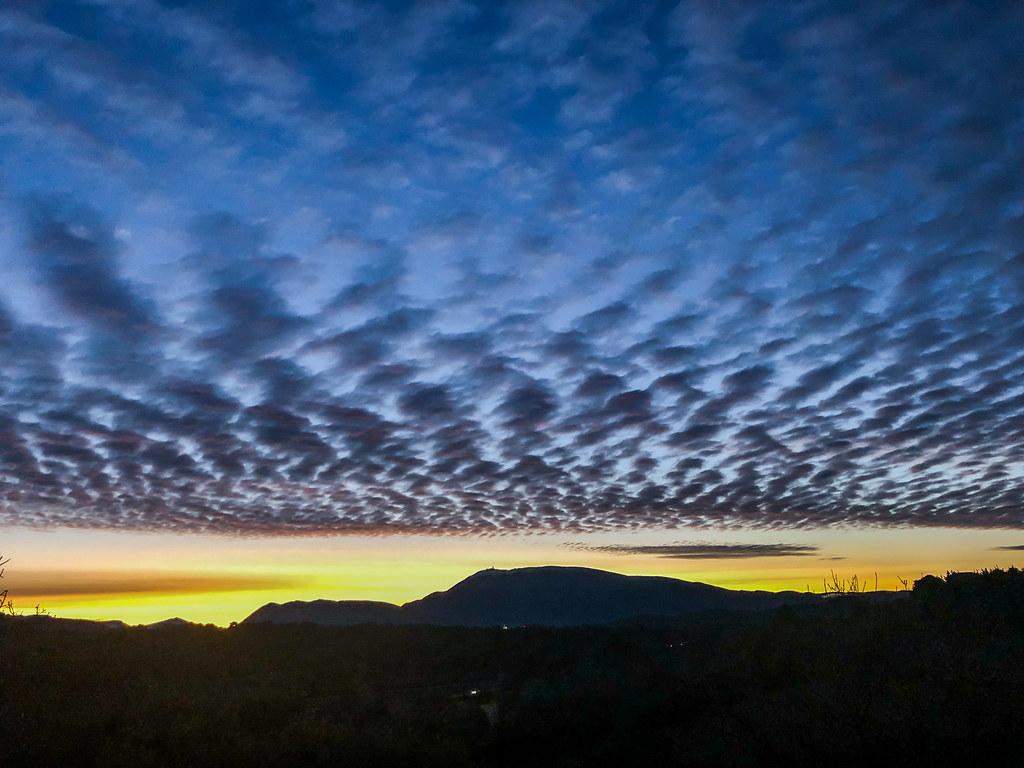 Sunrise in Provence