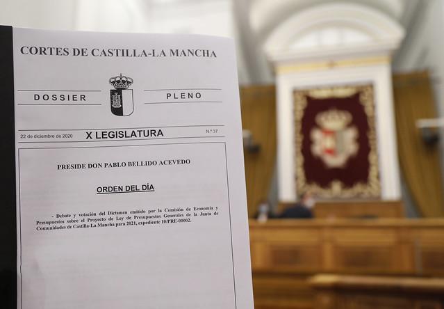 Pleno de Presupuestos 22-12-2020