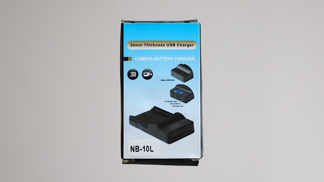 NB-10L USB Charger.