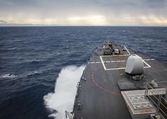 USS John S. McCain (DDG 56) transits through South China Sea, Dec. 22. (U.S. Navy/MC2 Markus Castaneda)