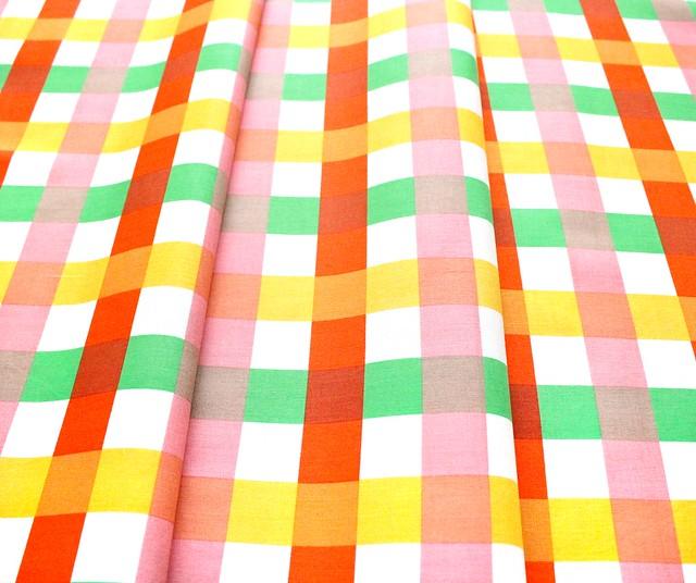 Windham Fabrics Malibu 52148-11 Big Gingham Green