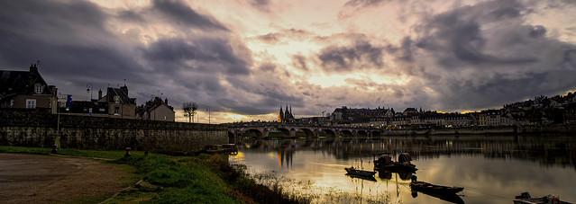 Blois  :  du port de la Creuzille