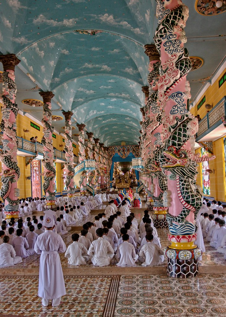 Vietnam - Tay Ninh - Holy See Temple