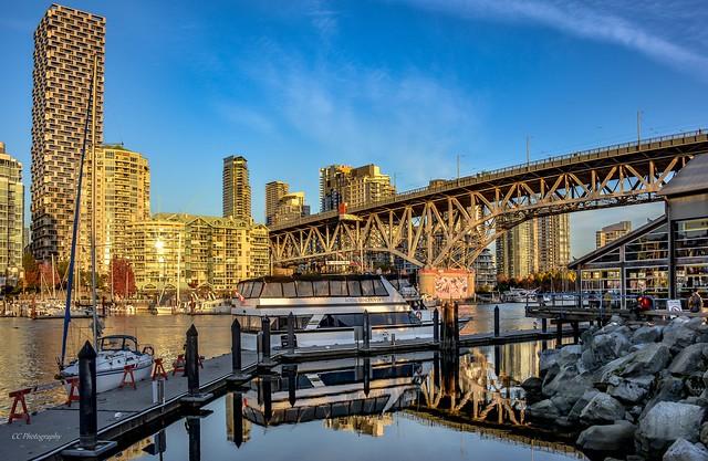 Granville Bridge as seen from Granville Island, Vancouver BC