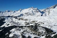 Aletsch Aréna z ptačí perspektivy