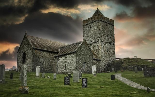 St. Clements Church, Rodel, Isle of Harris. Scotland.
