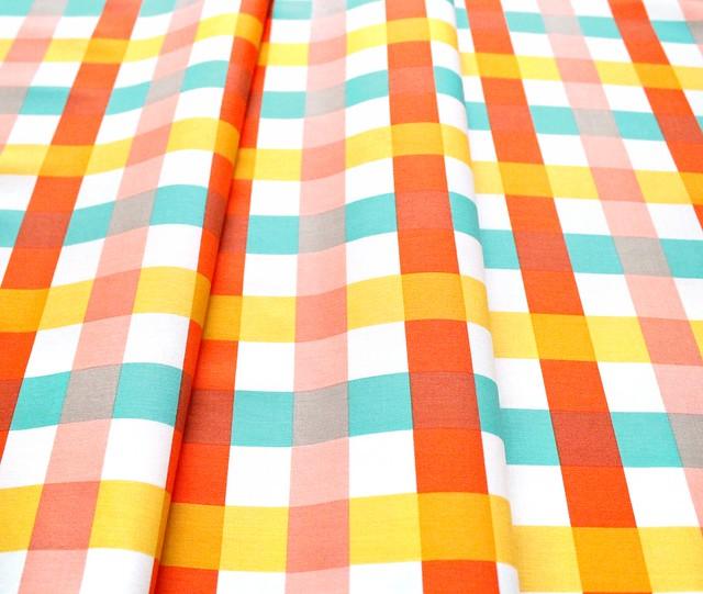 Windham Fabrics Malibu 52148-1 Big Gingham Ocean