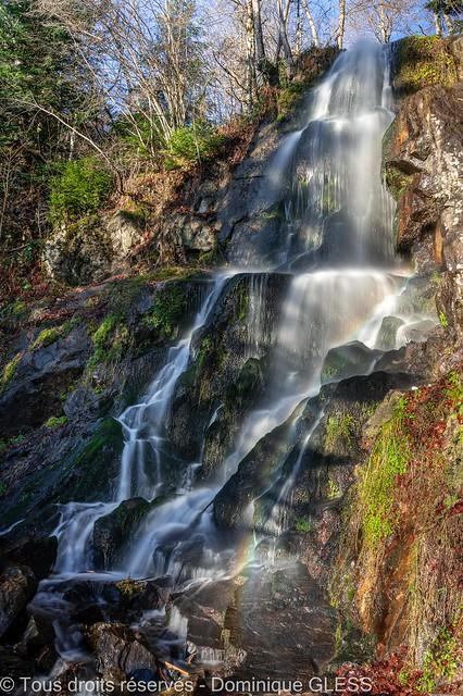 Cascades des Vosges : la cascade du Hohwald