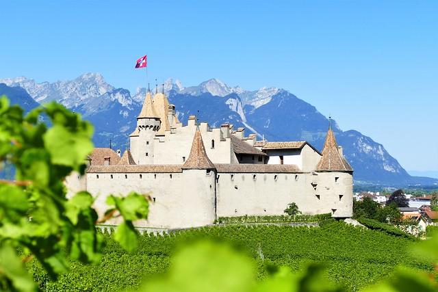 08.18.19.Le Château d'Aigle - Suisse