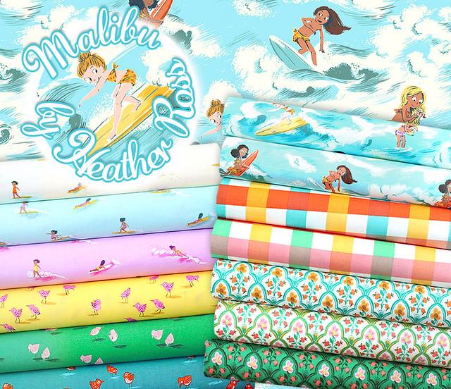 Windham Fabrics Malibu Collection by Heather Ross