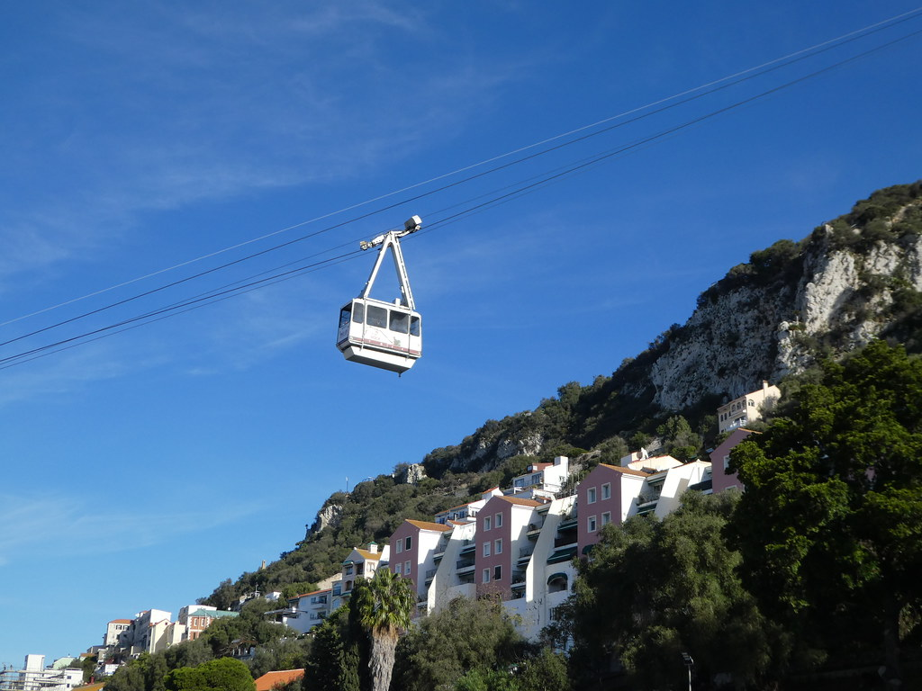Cable Car to the Top of the Rock, Gibraltar