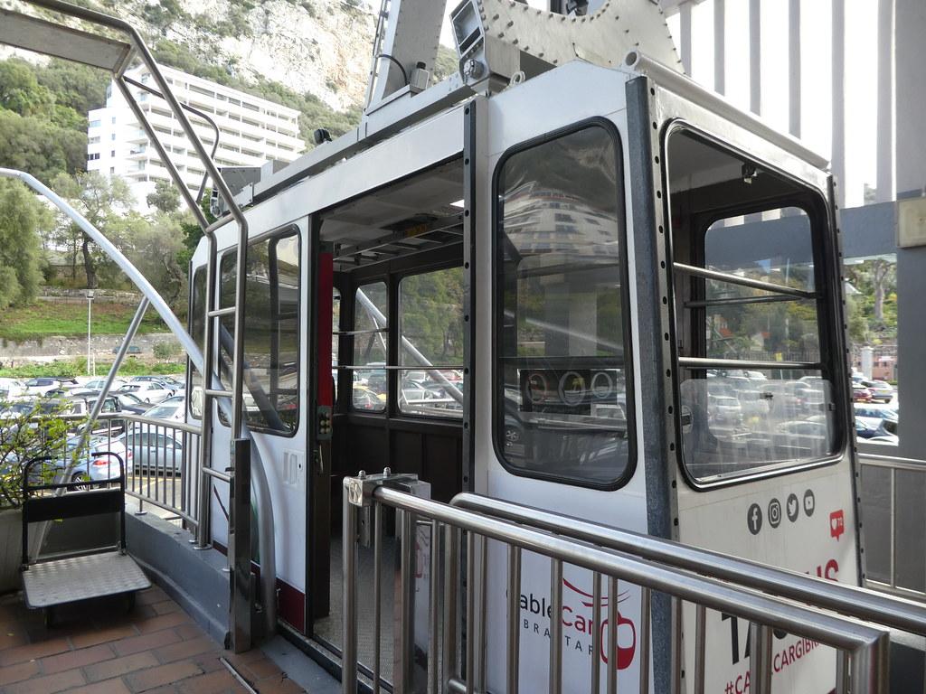 The Gibraltar Cable Car