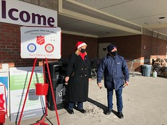 Rep. Haines hosted a Salvation Army Bell Ringing in East Hampton to help those in need.