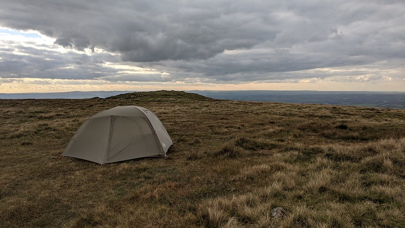 Big Agnes Copper Spur HV UL2 on Corn Ridge