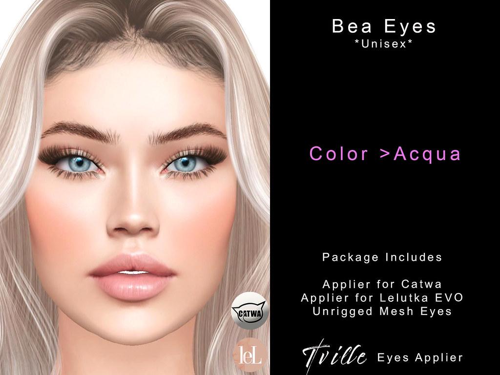 Tville – Bea Eyes *acqua*