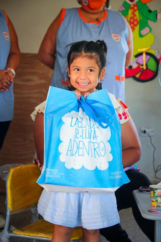 Entrega de juguetes al programa HIPPY por GLOBANT | DIC 2020