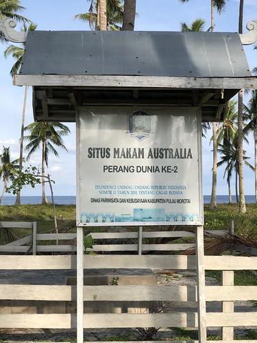 Australische begraafplaats, Morotai, grotendeels geruimd
