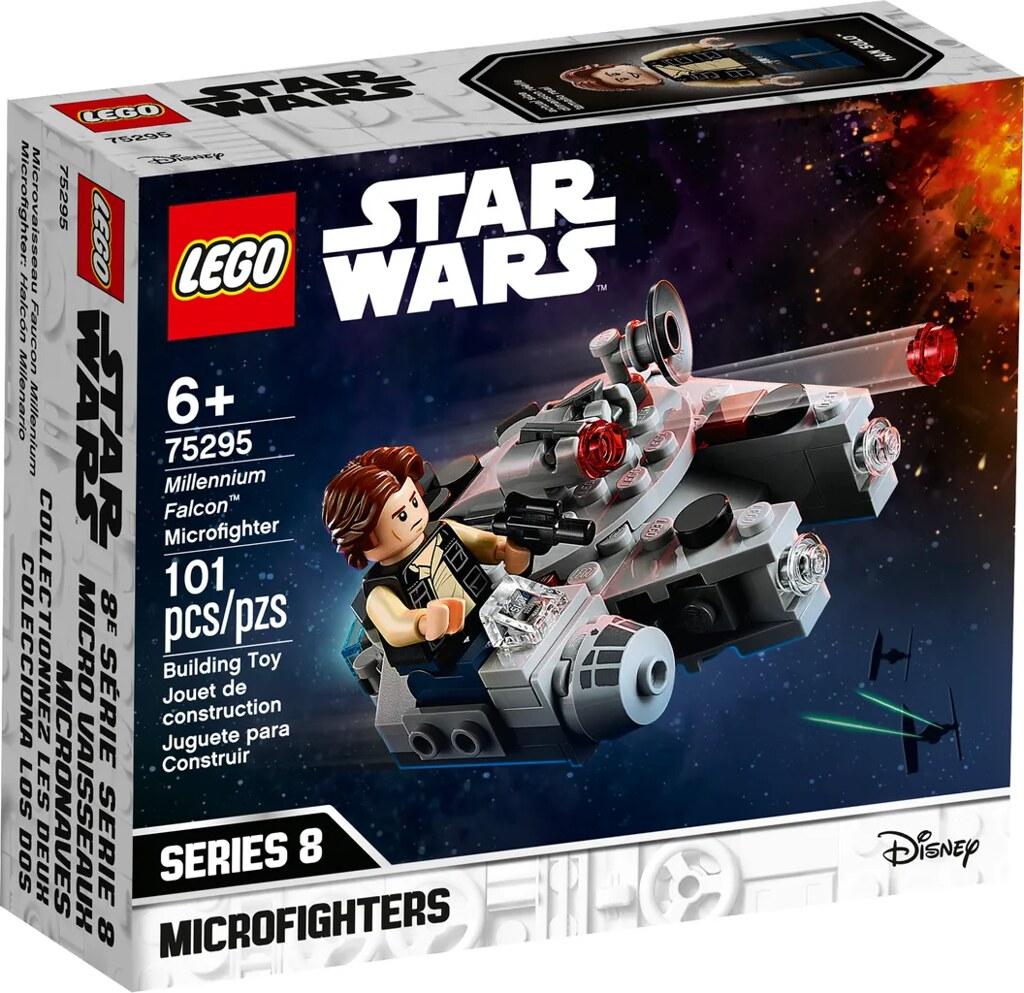 LEGO 75295《星際大戰》千年鷹號(Millennium Falcon)Microfighter 迷你模型將再次登場!