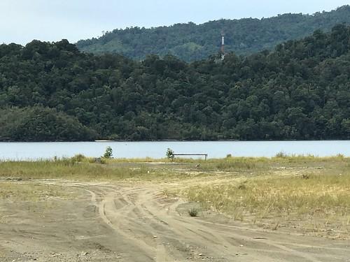 Mogelijke landingsplaats Amerikaanse troepen, Tanah Merah baai
