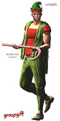 Buddy Elf outfit