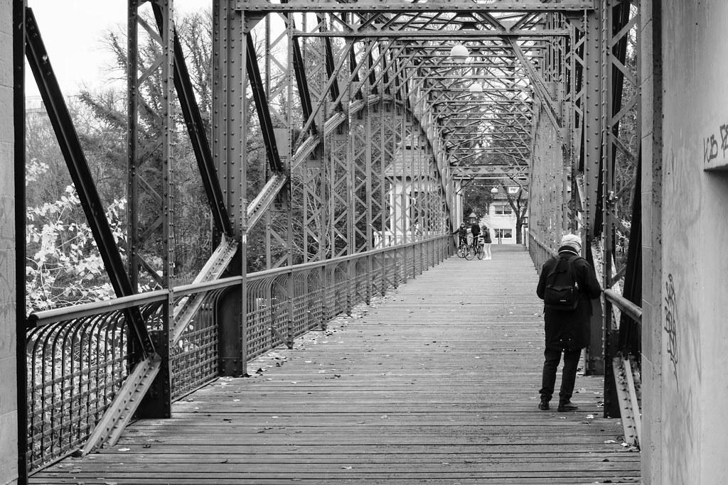 Tegeler Hafenbrücke (Sechserbrücke) - Berlino