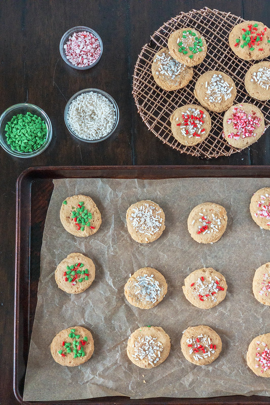 Gluten-free Butter Cookies (dairy-free)