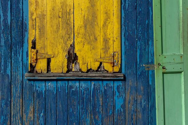 Nevis Pieces - Vic's Window