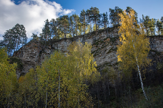 Gold of the Ural Mountains (what is still left). Ay river, Ural, Russia (0U4A8214)