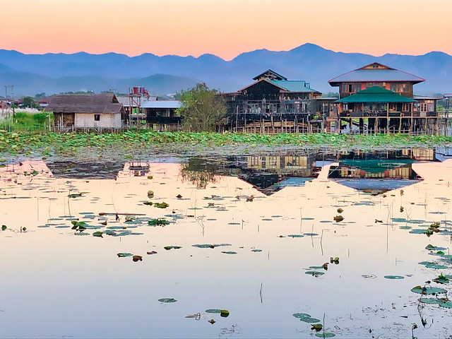 🇲🇲 In Phaw Khone, lac Inle (Myanmar)