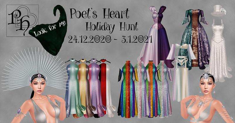Poet's Heart Holiday Hunt