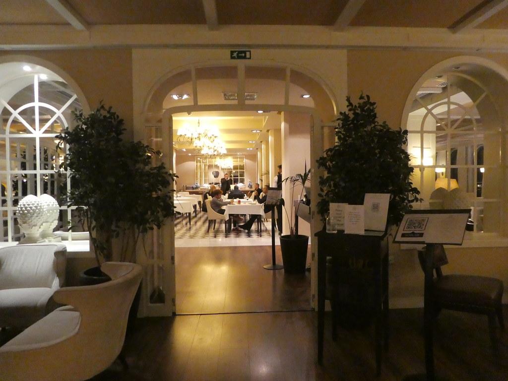 Terrace Restaurant, Rock Hotel Gibraltar