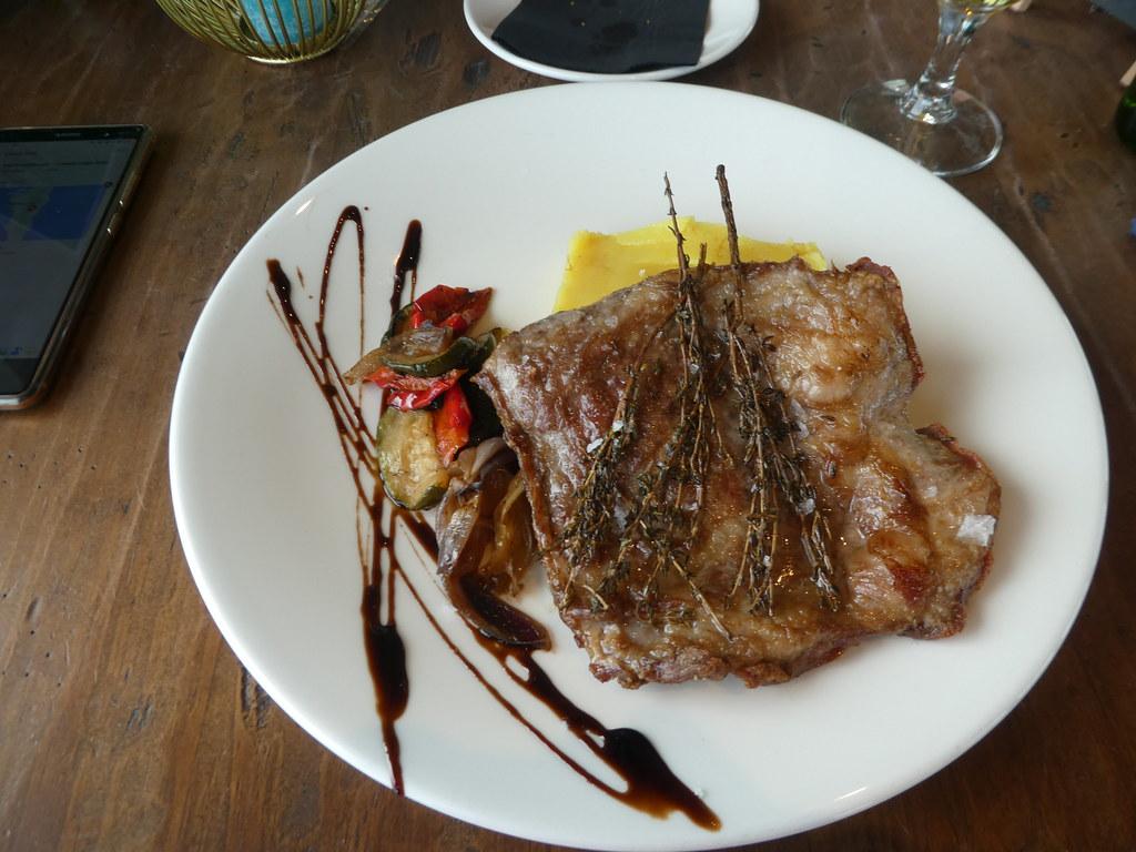 Main course, Mons Calpe Restaurant, Gibraltar