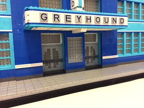 Greyhound Bus Station, Jackson, MS