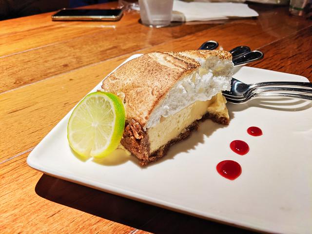 Key Lime Pie at Skippers Dockside Restaurant Key Largo Florida Keys 2020 2