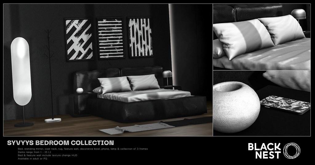 BLACK NEST | Syvyys Bedroom Collection | Uber