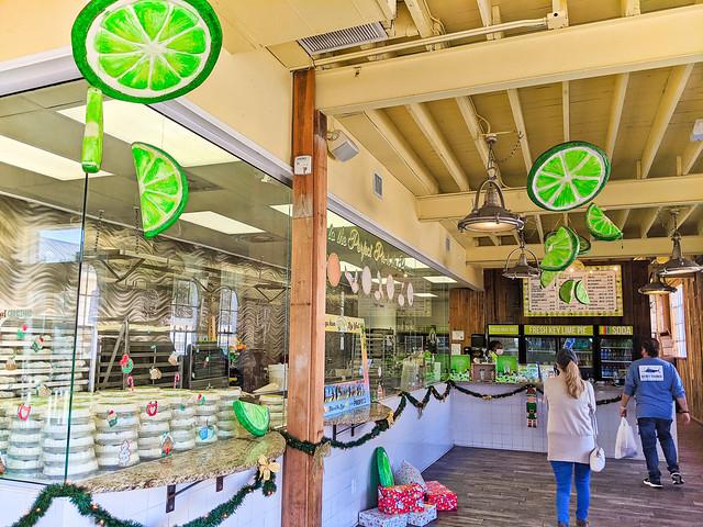Interior of Key Lime Pie Factory in Key West Florida Keys 2020 1