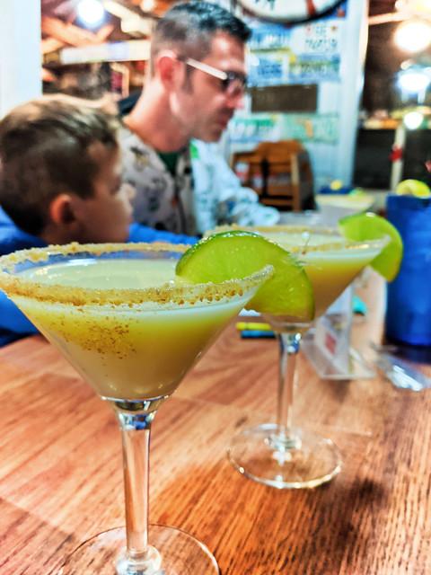 Key Lime Pie Martinis at Half Shell Raw Bar Key West Florida Keys 2020 2