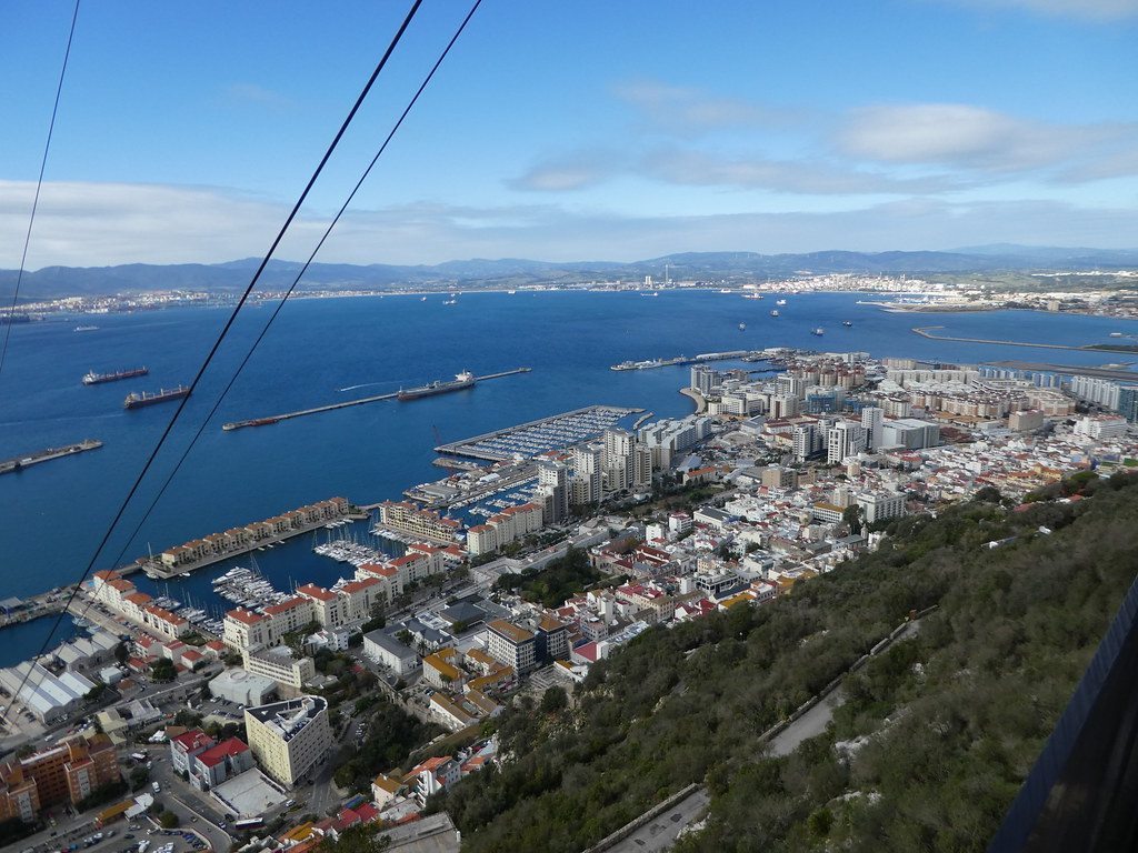 Views from the Gibraltar Cable Car